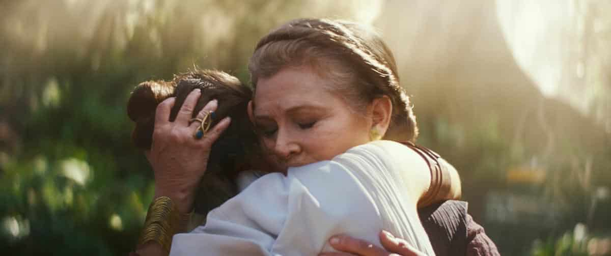 leia star wars: el ascenso de Skywalker