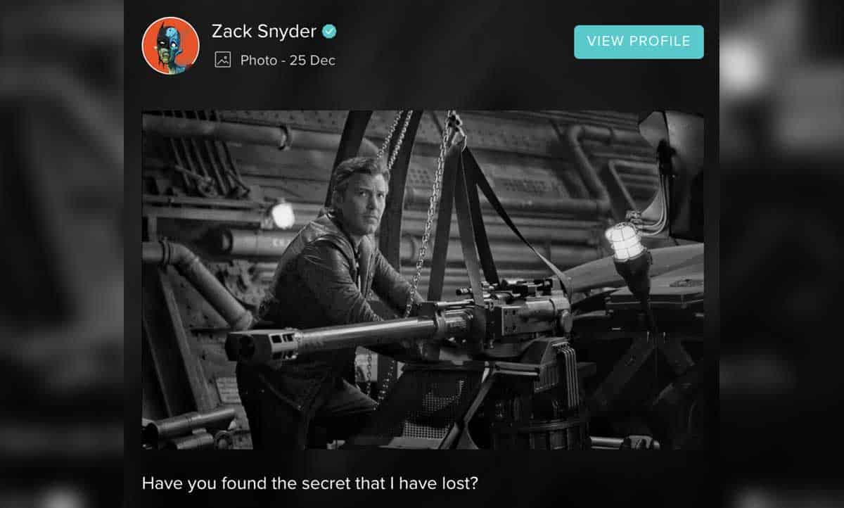Liga de la Justicia: Zack Snyder muestra más imágenes de su corte