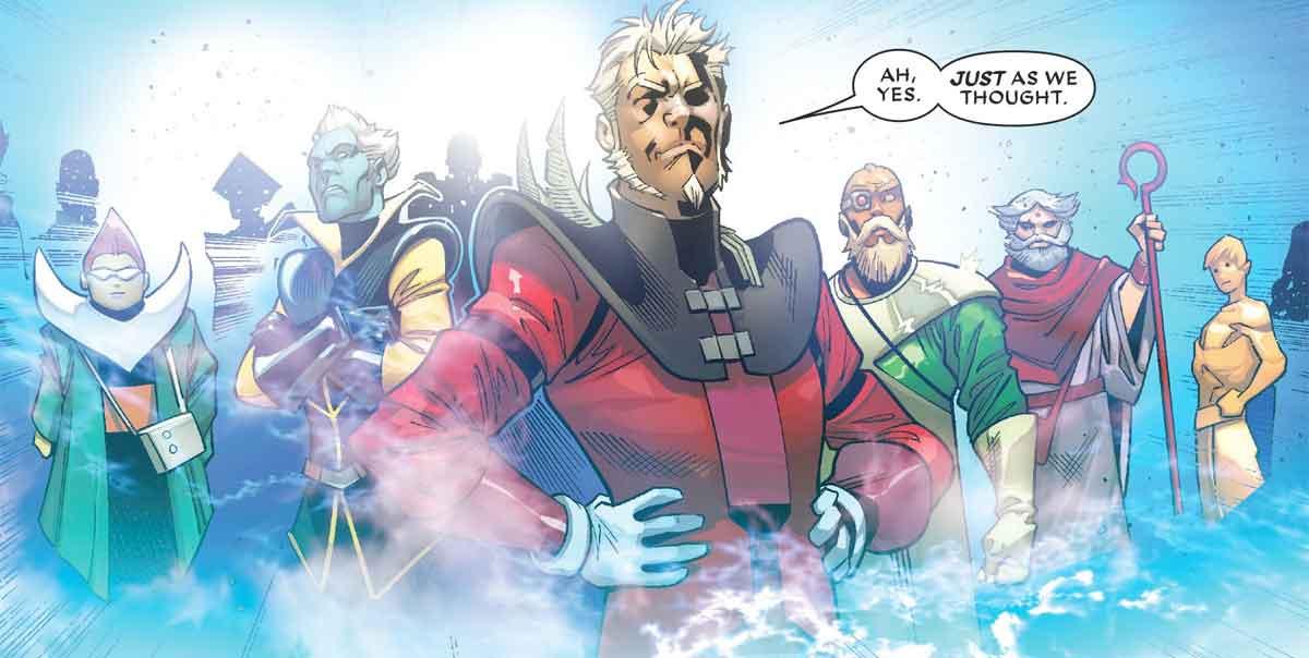 Marvel revela su nuevo e impactante personaje cósmico