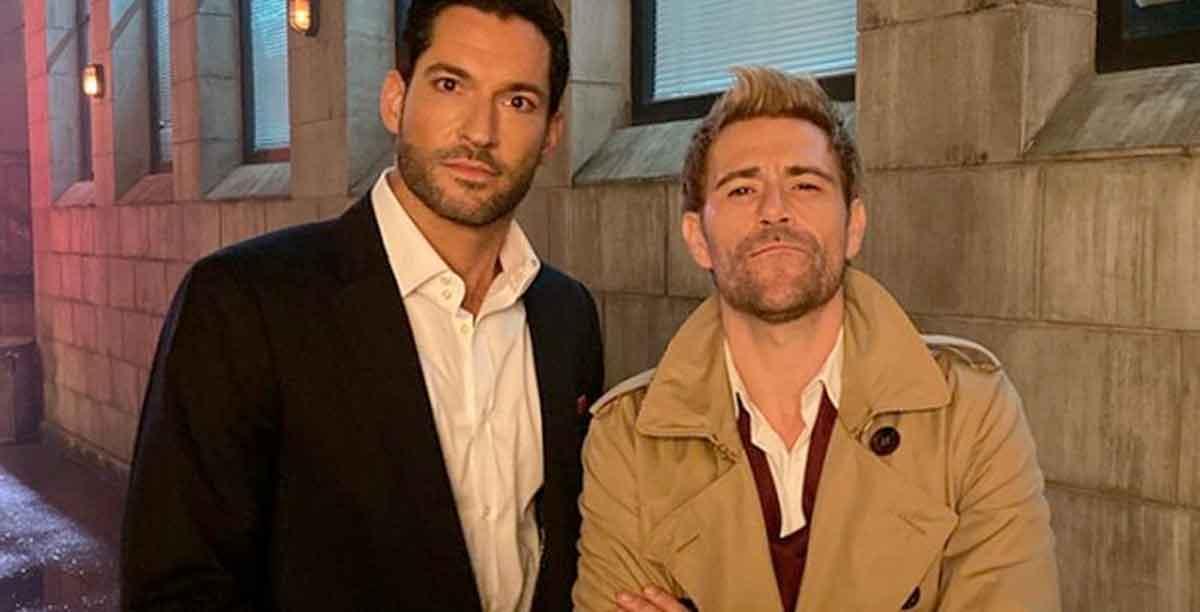 Lucifer y Constantine podrían tener su propia serie juntos