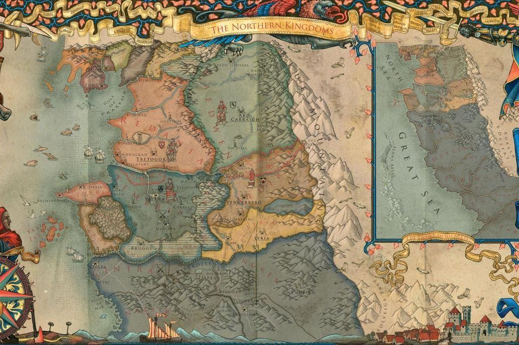 mapa de the witcher