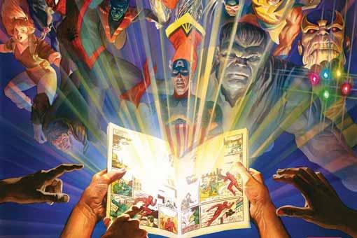 marvel comics 1000 edicion 80 aniversario