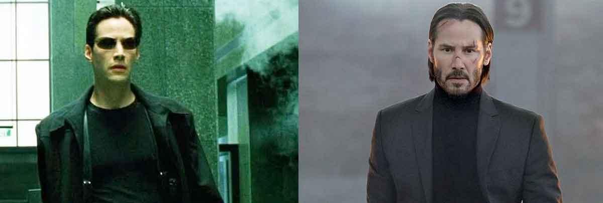 Keanu Reeves comienza a entrenar para John Wick 4 y Matrix 4