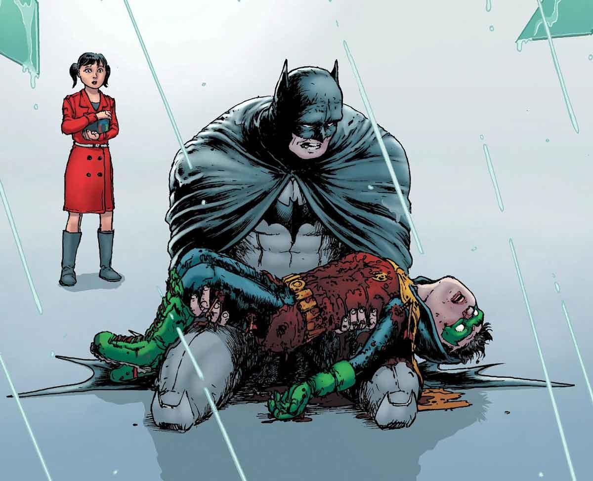 muerte de damian Batman