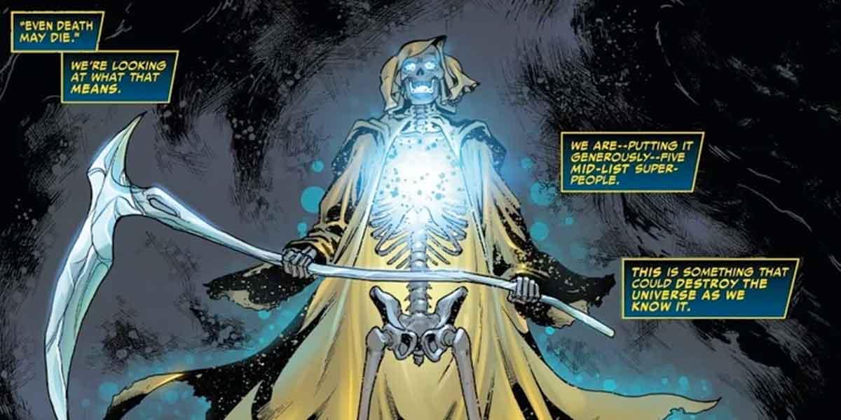 Marvel revela que La Muerte se está muriendo