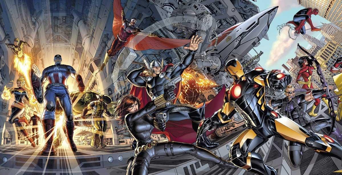 new Avengers de Hickman