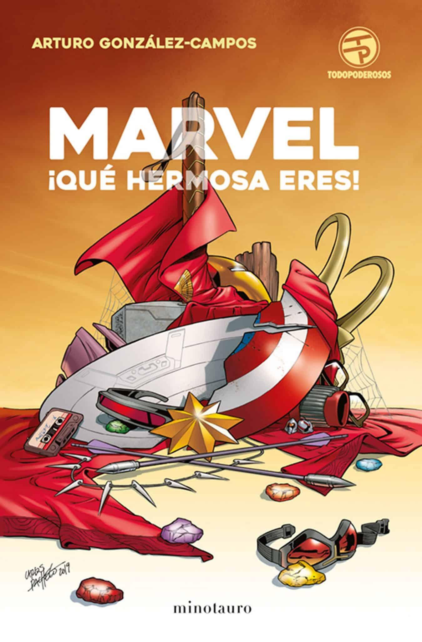 Marvel, ¡qué hermosa eres!