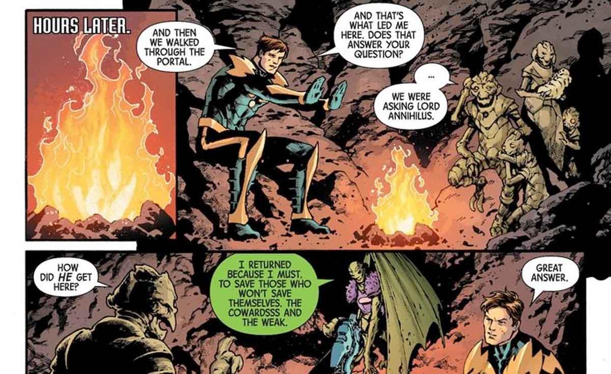 Marvel redime a uno de los mayores villanos cósmicos