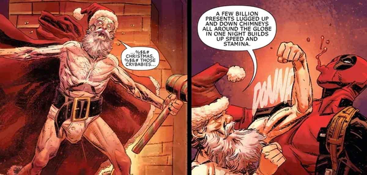 Santa Claus es real y es un poderoso mutante de los X-Men Marvel