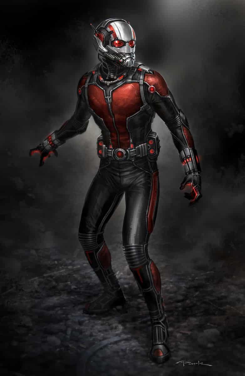 Concept art Ant-man