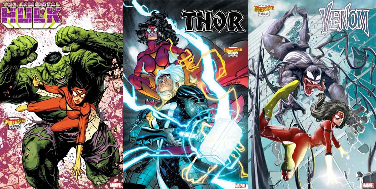 Marvel une a Spider-Woman con los héores más importantes