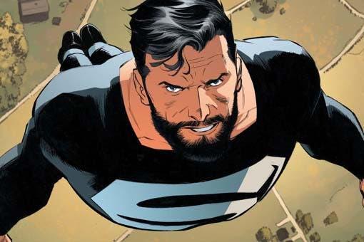superman black suite