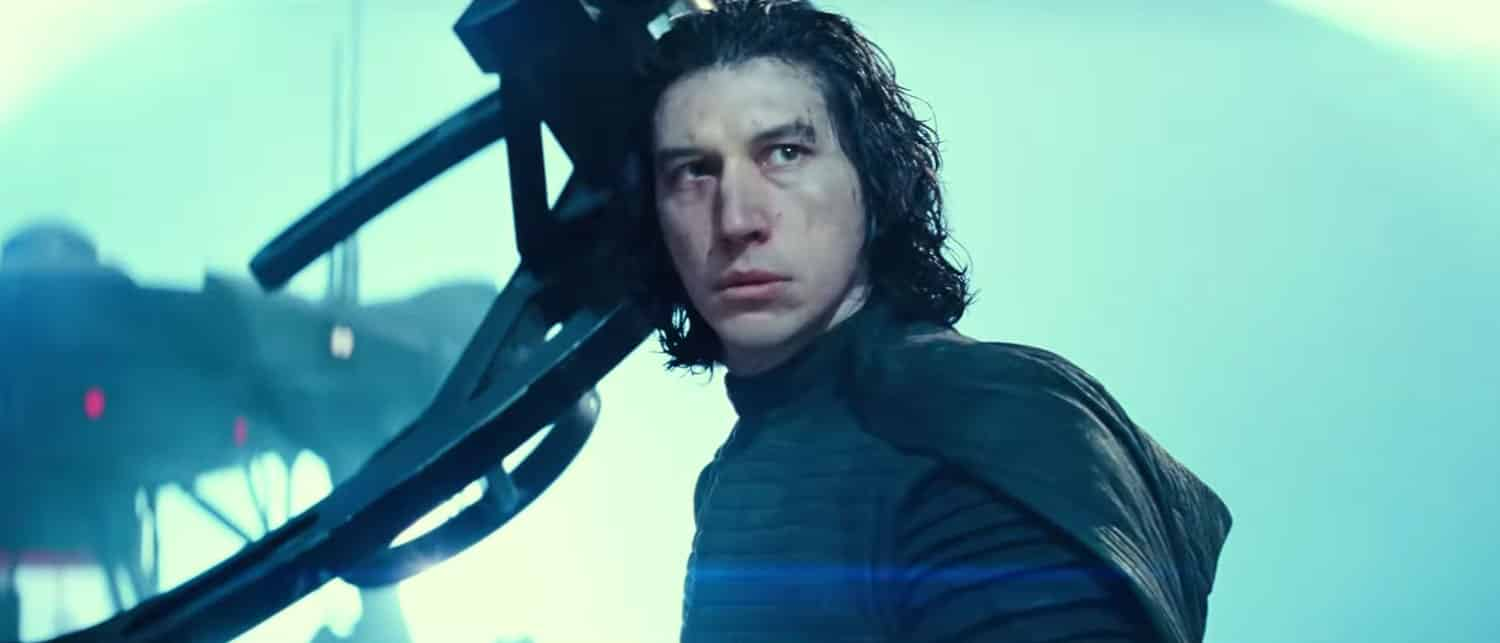 Kylo Ren en Star Wars 9: El ascenso de Skywalker