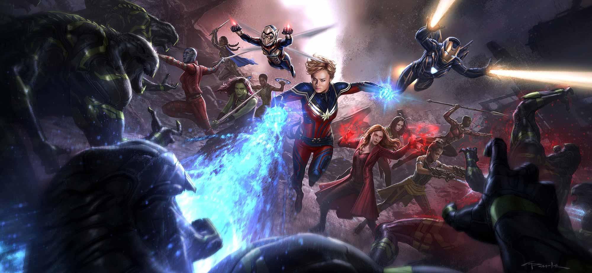 A-Force Vengadores: endgame