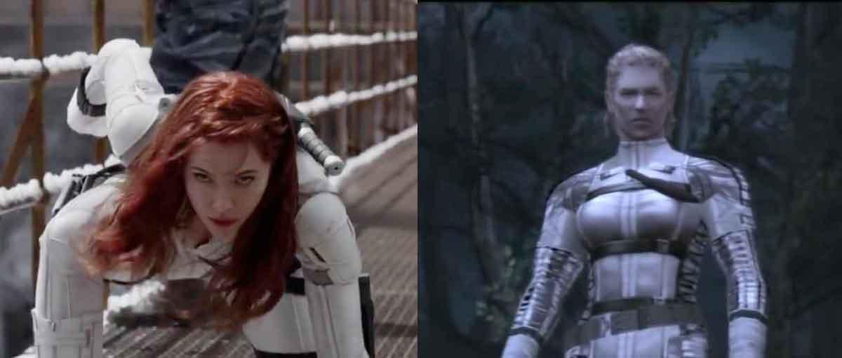 Acusan a Viuda Negra de ser una copia del videojuego Metal Gear Solid