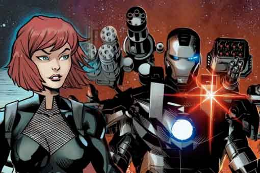 Viuda Negra obtiene su propia armadura de Iron Man