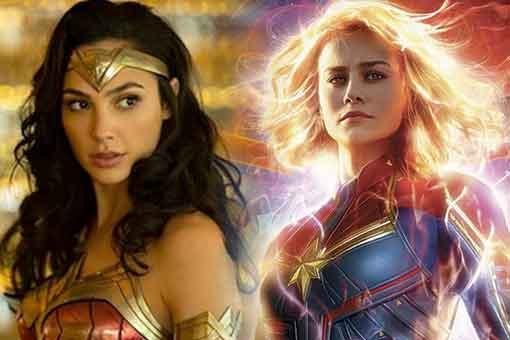 Brie Larson (Capitana Marvel) reacciona al tráiler de Wonder Woman 1984