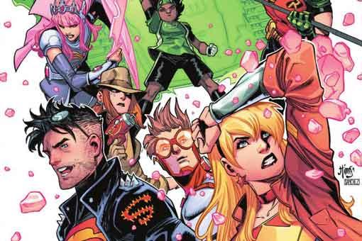 young justice 6 DC Comics