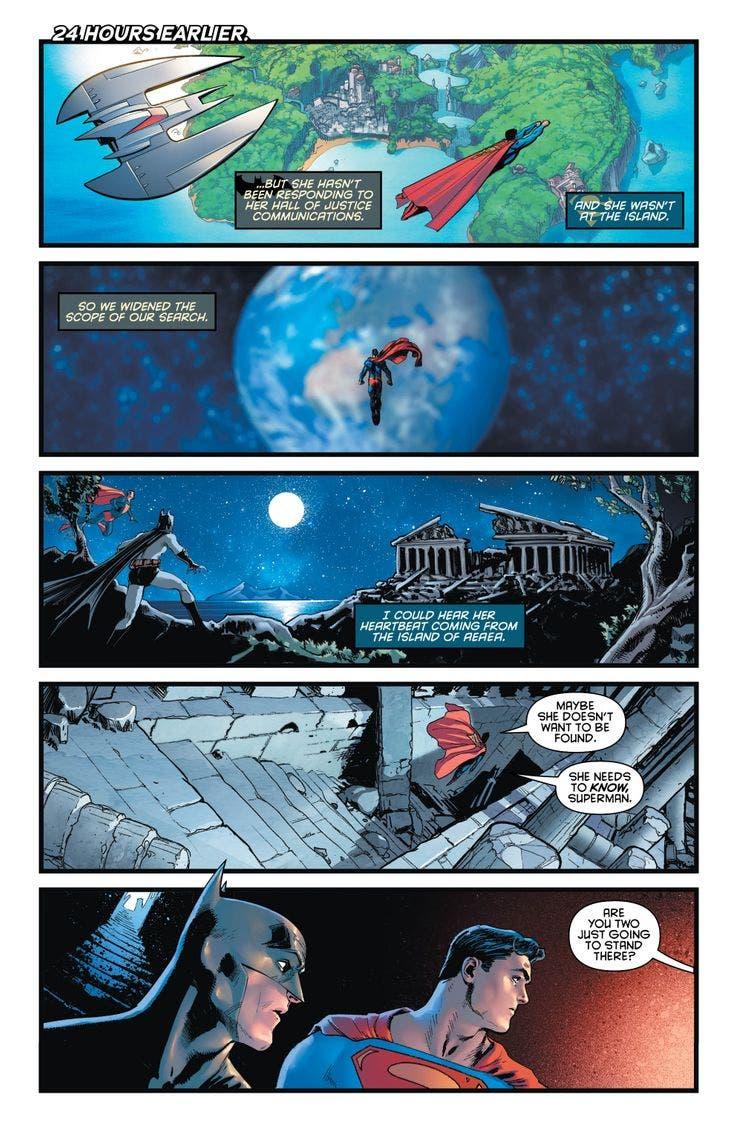 Viñeta DC Comics
