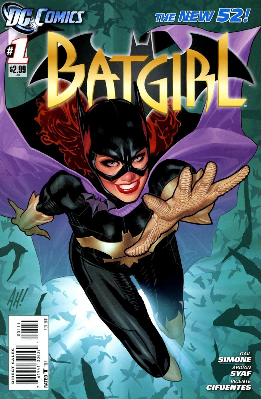 Batgirl #1 001