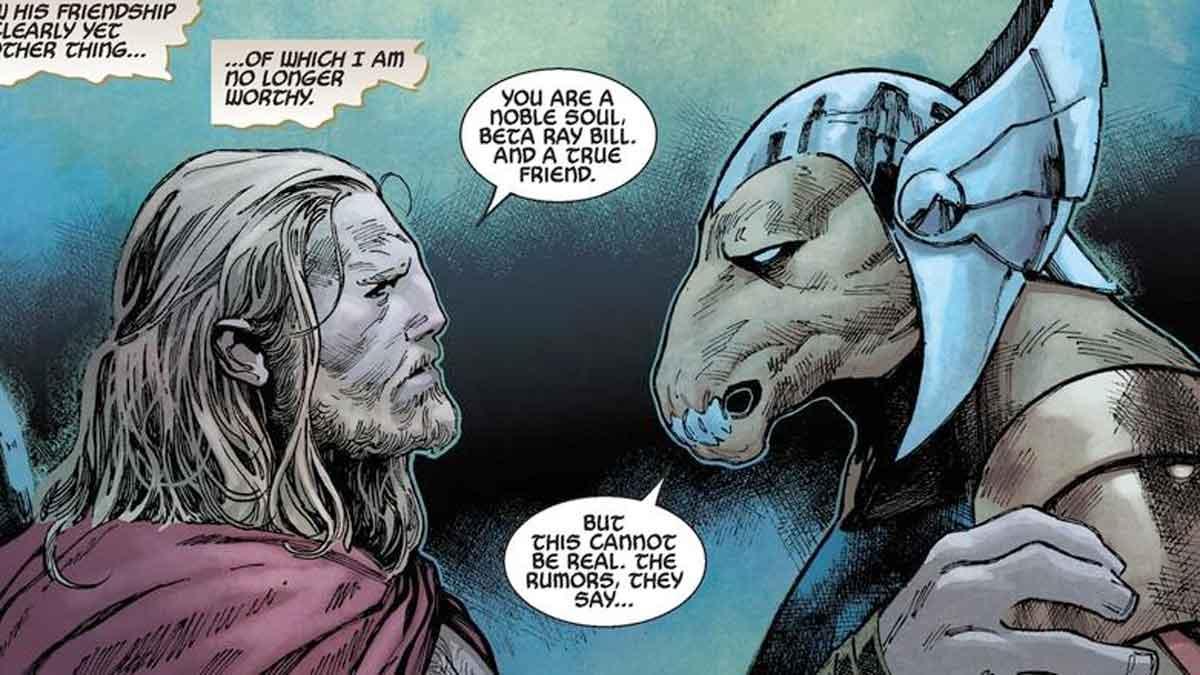 Thor 4 podría incluir a Beta Ray Bill