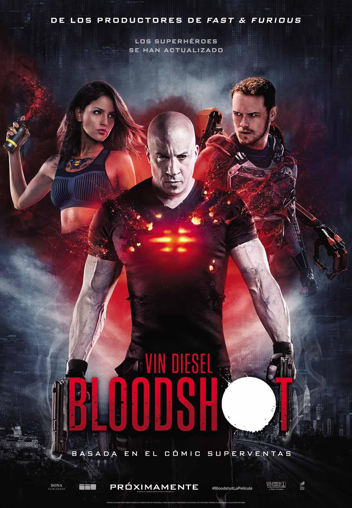 Cartel final de Bloodshot