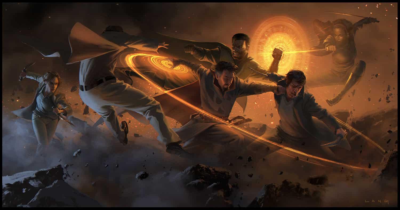 Concept art Doctor Strange Marvel Studios