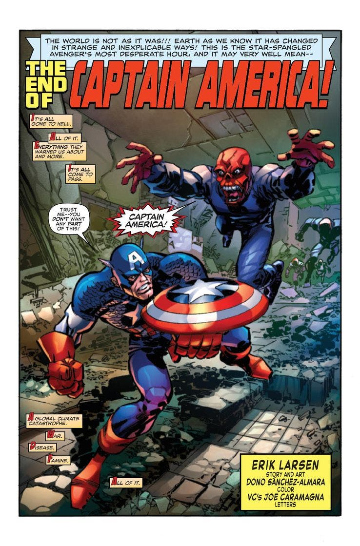 Capitán América: The End