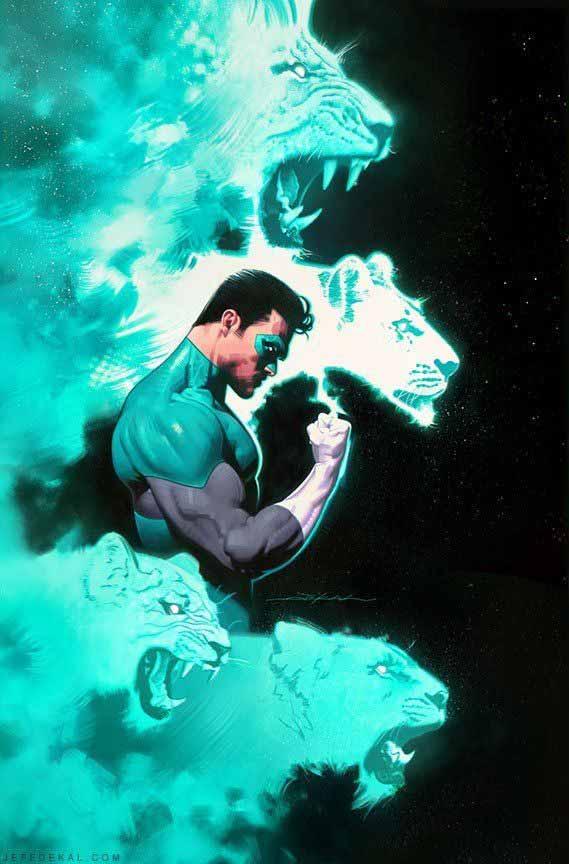 El Green Lantern 9