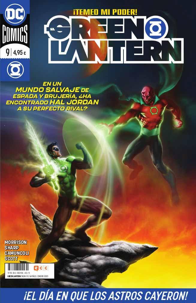 El Green Lantern 9 Grant MORRISON