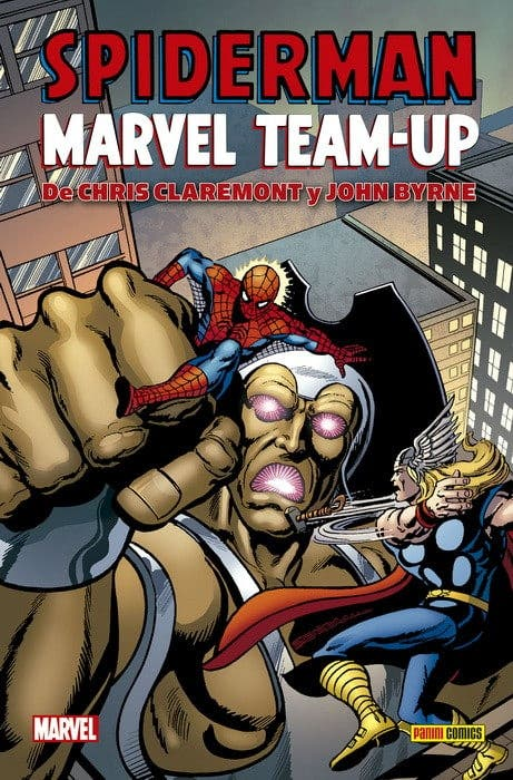 MARVEL HC Spiderman Marvel Team-Up de Chris Claremont y John Byrne