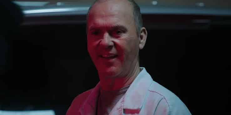 Michael Keaton el buitre en Morbius