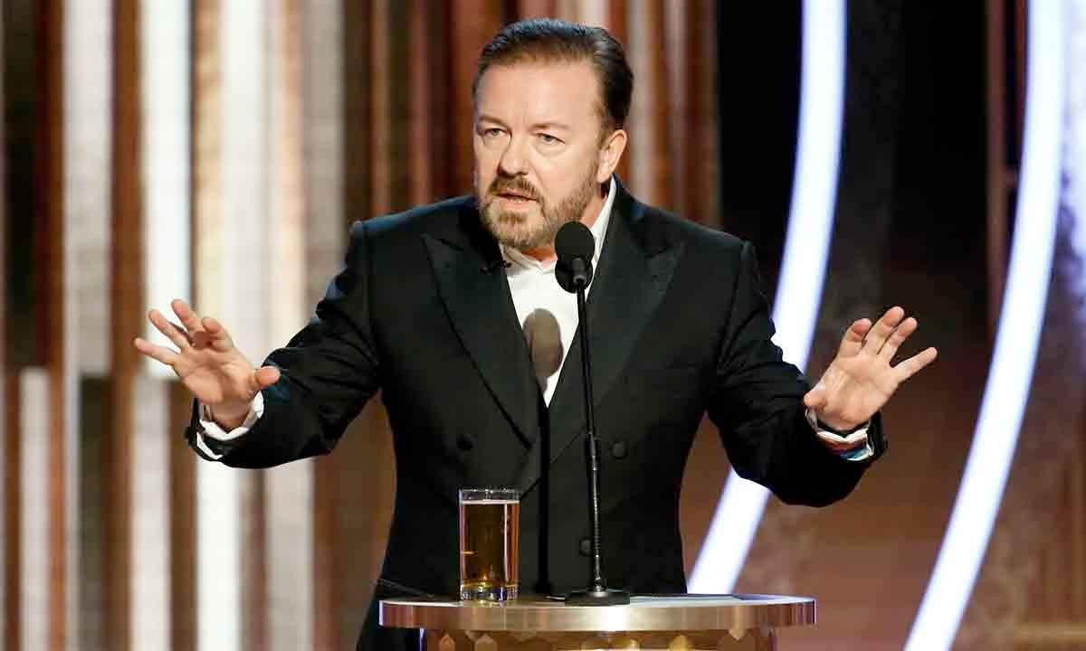 El incendiario discurso de Ricky Gervais en los Globo de Oro 2020