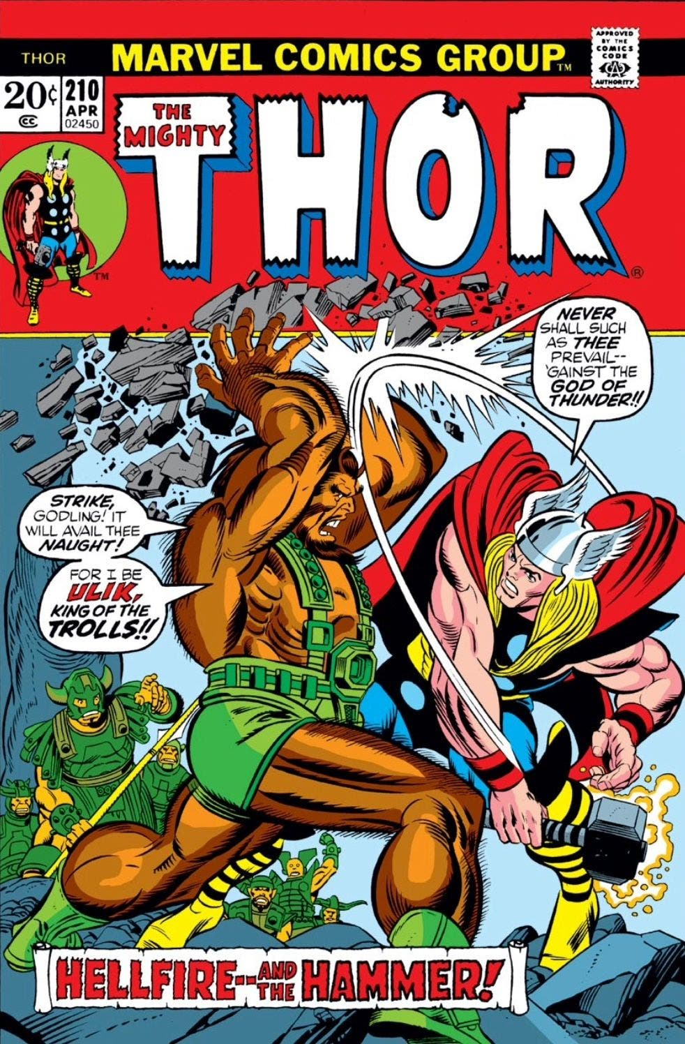 The Mighty Thor 210