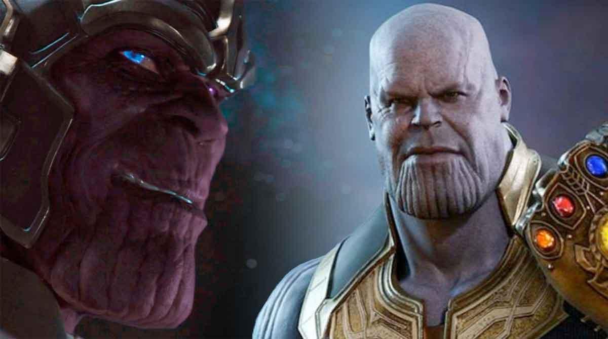 Motivo del cambio de aspecto de Thanos después de Los Vengadores (2012)