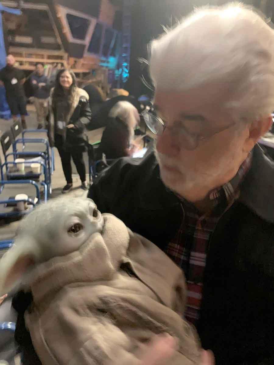 El Mandaloriano muestra como George Lucas conoció a Baby Yoda