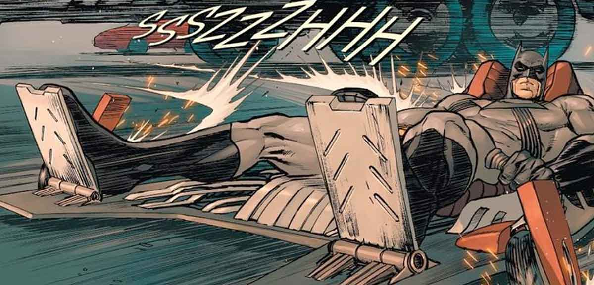 Batman presenta el peor Batmóvil de la historia