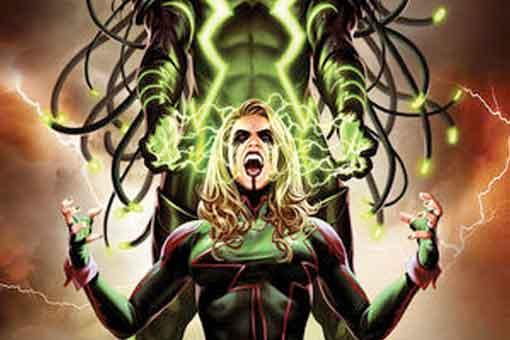 Capitana Marvel traiciona a Vox para salvar a los Vengadores