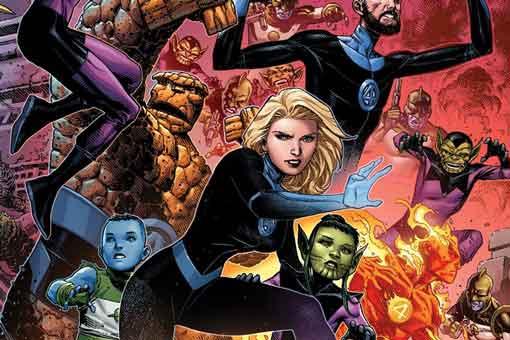 Los Cuatro fantásticos conocen a un nuevo Anciano del Universo Marvel