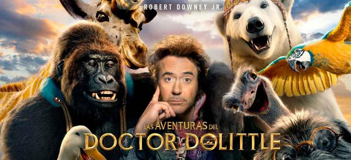 Primeras críticas de Las aventuras del doctor Dolittle ¡Desastre a la vista!