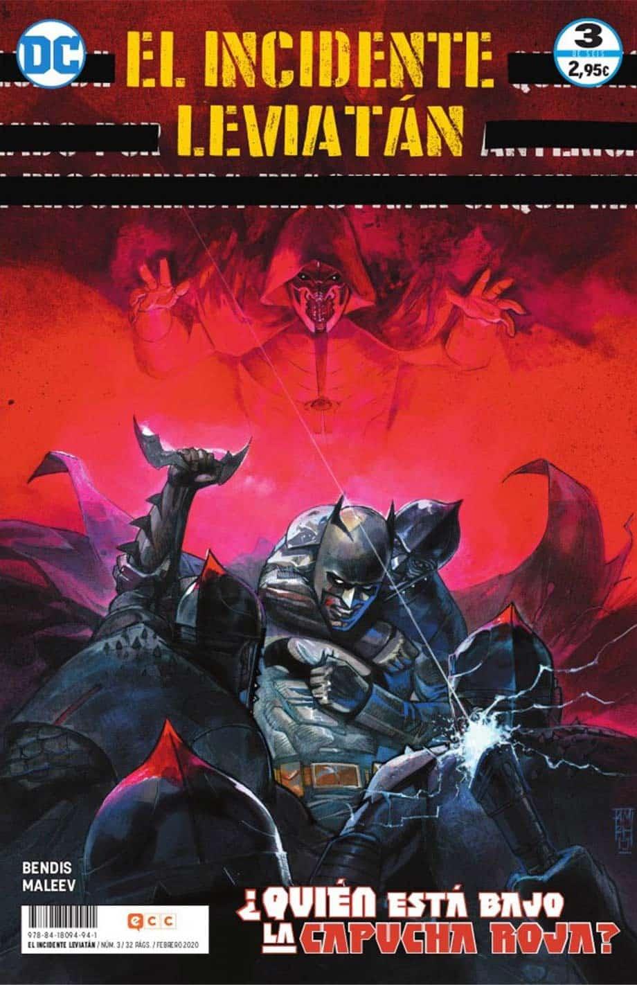 El incidente Leviatán DC Comics
