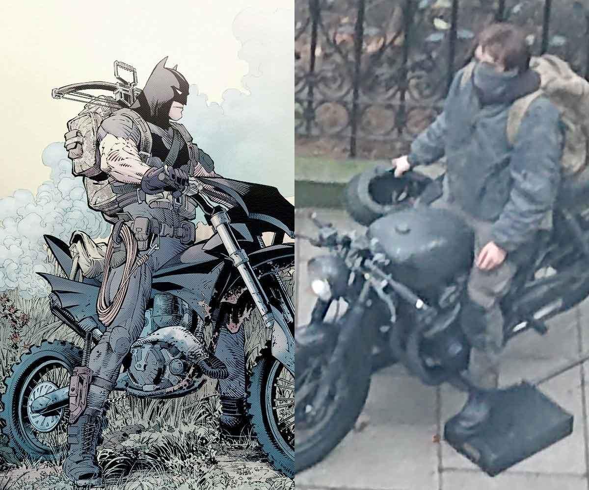 Filtran la primera imagen de Robert Pattinson en The Batman