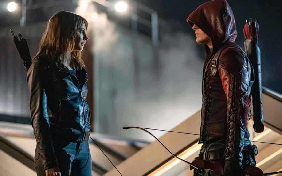 Thea Queen y Roy Harper