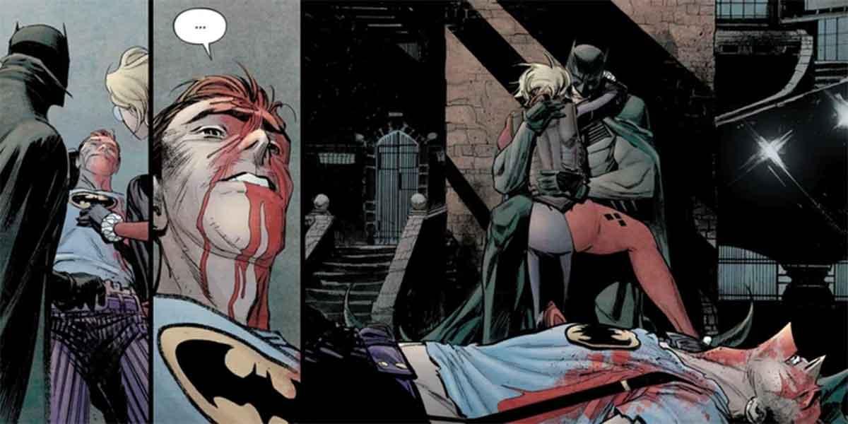 Así es como Harley Quinn mata al Joker