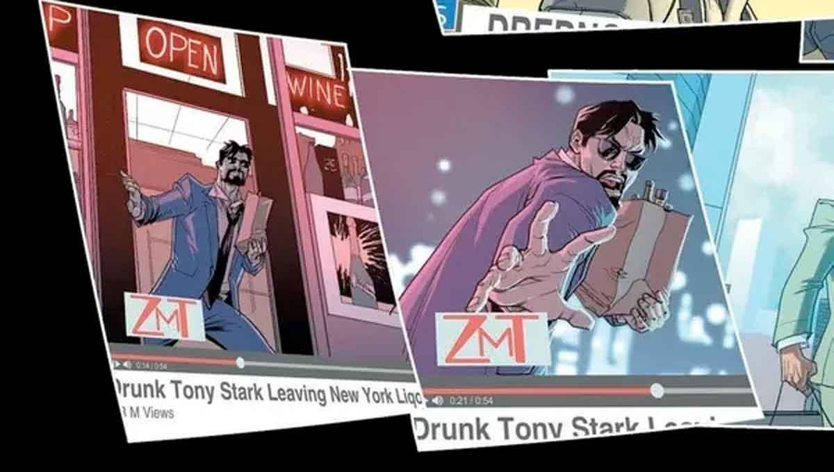 Iron Man está demasiado borracho para salvar el mundo