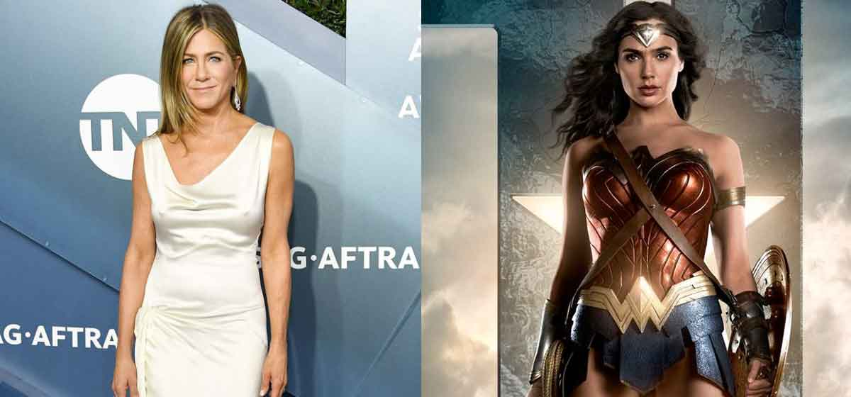 Jennifer Aniston quería interpretar a Wonder Woman
