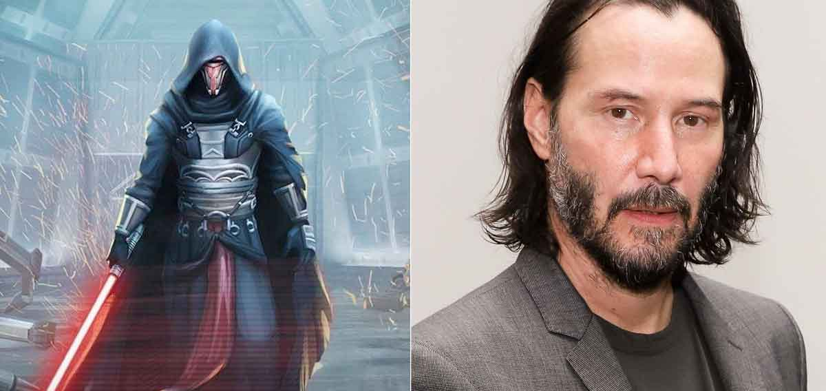 Especular Fan tráiler de Keanu Reeves como Darth Raven de Star Wars