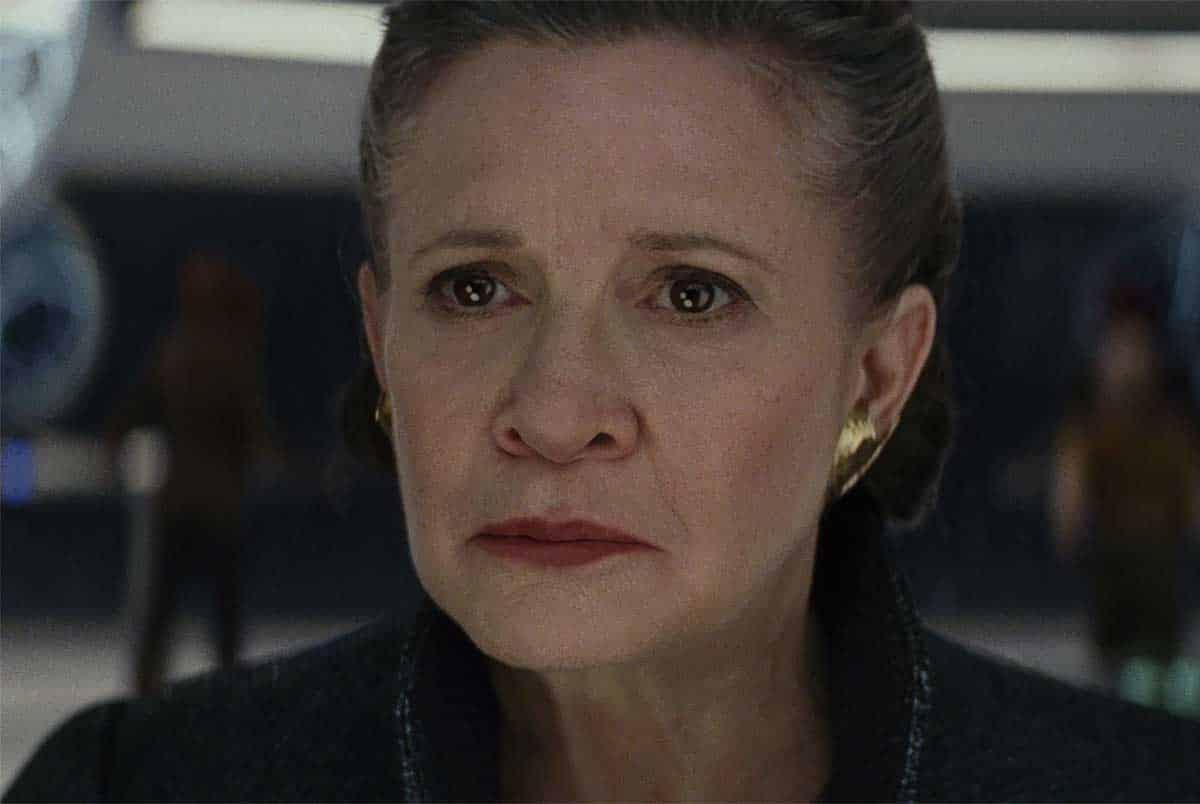 Star Wars: El ascenso de Skywalker. ¿De dónde fueron sacados los planos de Leia?