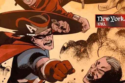 Marvel recuerda al Capitán América original de 1783