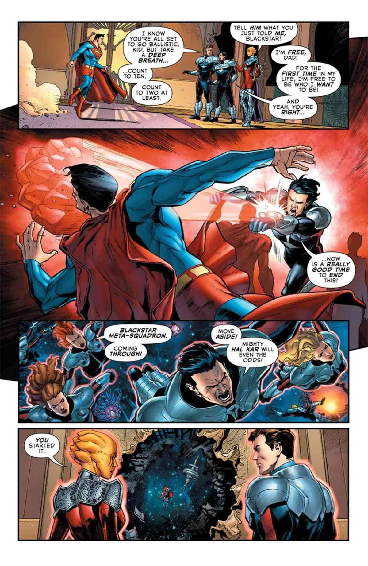 Superman ha sido brutalmente asesinado por su propio hijo